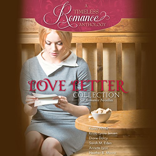 Love Letter Collection     Six Romance Novellas              De :                                                                                                                                 Karey White,                                                                                        Krista Lynne Jensen,                                                                                        Diane Darcy,                   and others                          Lu par :                                                                                                                                 Siiri Scott                      Durée : 9 h et 43 min     Pas de notations     Global 0,0