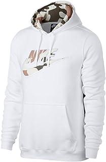 NIKE Men's Sportswear Club Camo Pullover Hoodie