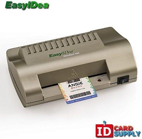 EasyIDea Premium Bargain Free Shipping New sale ID Card and Badge Lam Laminator ML450 Mini fo
