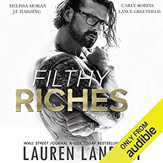 Filthy Riches audiobook cover art