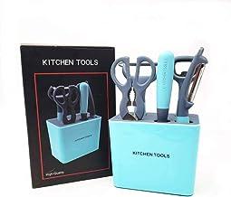Kitchen Tools & Gadgets | Vegetable Peeler, Scissors Set of 5 for Kitchen | Vegetable Chopper | Scissors and Peeler | Bott...