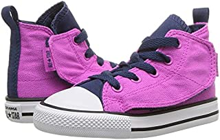 Chuck Taylor All Star Simple Step Hi Fashion Sneakers Hyper Magenta/Navy Size 5 Toddler
