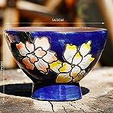 APOO ase Decoración Cerámica Muebles para el hogar Plantas de cerámica Modernas Plantación Tazón Utensilios Oficina Desierto Decorativo Pintura al óleo Sembradora Imagen en Color