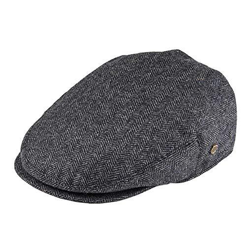 Flat Cap Wol Herringbone Newsboy Caps Tweed Blend Mannen Vrouwen Beret Klassieke Driver Hoed Golf Jacht Ivy Hoeden