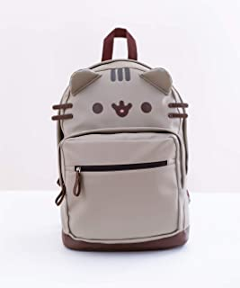 Pusheen PU Leather Backpack with 3D Ears