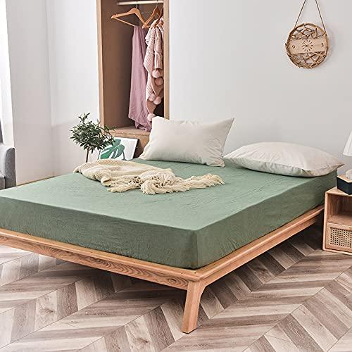 BOLO Adecuado para sábanas, no necesita planchado, microfibra súper suave, de fácil cuidado, 120 cm x 200 cm + 25 cm