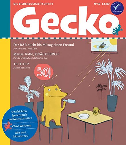 Gecko Kinderzeitschrift Band 59: Die Bilderbuch-Zeitschrift