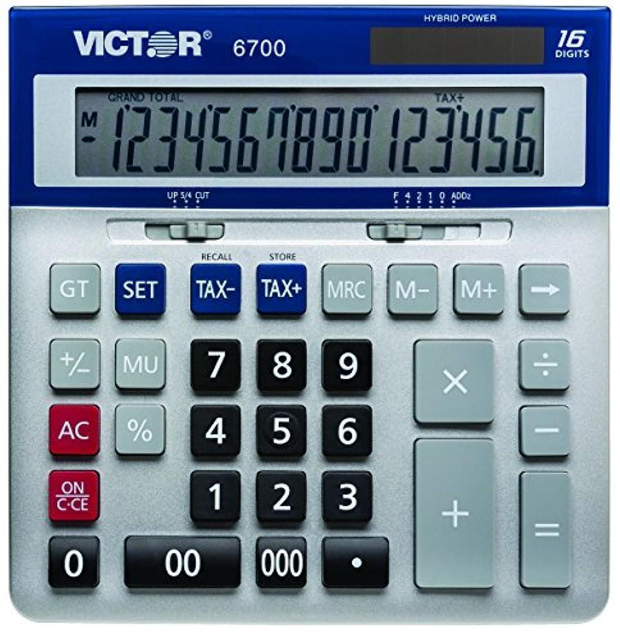 北米パック繊毛Victor 6700 16 Digit Extra Large Desktop Calculator [並行輸入品]