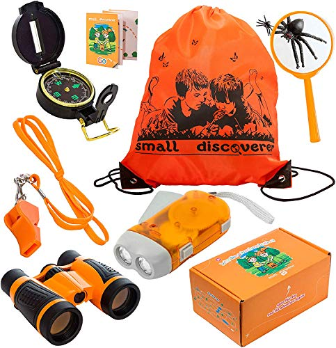Small Discoverer Outdoor Exploration Set - Kids Adventure Pack - Perfect 3-12 Year Old boy Toys and Girl Toys - Good Birthday Children Outdoor Education