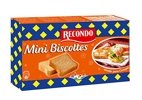 Recondo Mini Biscottes, 60 uds
