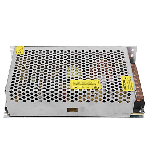 Adaptador de controlador de fuente de alimentación con interruptor DC24V Fuente de alimentación de aleación de aluminio para impresora(S-240-24(24V/10A/240W)AC110/220V±15%)