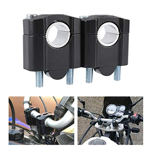 INNOGLOW Motorcycle Handlebar Risers 1 1/8' 7/8' 28mm and 22mm Universal Handlebars Clamp Riser...