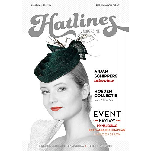 Artipistilos® Hatlines Herfst 2019 - Otoño 2019 - Magazine Hoed Lijnen