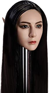 OBEST 1/6 Scale YMT09 Elf Head Headsculpt with Replaceable Ears for HT, VERYCOOL, TTL, Hottoy, Play, PHICEN Action Figure ...