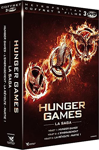 Hunger Games + Hunger Games 2 : L'embrasement + Hunger Games - La Révolte : Partie 1