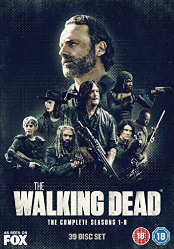 The Walking Dead Season 1-8 [Edizione: Regno Unito]