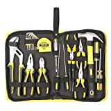 DOWELL 24 Pieces Homeowner Tool Set, Home Repair Hand Tool Kit with...