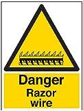 "Vsafety 63007bc-r""peligro alambre señal de"