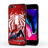 PUTEE Comics iPhone 7 Case iPhone 8 Case Full Body Protection Cover Cases (Spider-Man, iPhone 7/8)