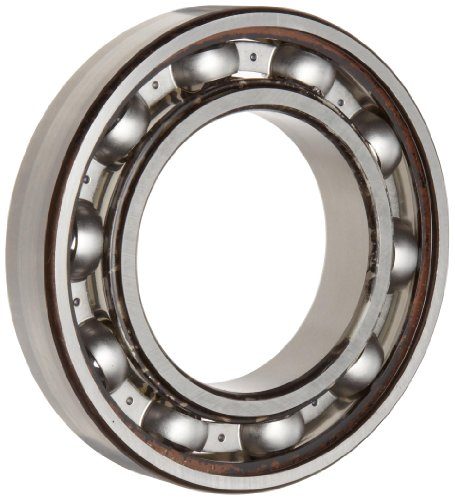 Timken 207K Ball Bearing, Open, No Snap Ring, Metric, 35 mm ID, 72 mm OD, 17 mm Width, Max RPM, 3450 lbs Static Load Capacity, 6550 lbs Dynamic Load Capacity