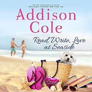 Read, Write, Love at Seaside     Sweet with Heat: Seaside Summers, Book 1              By:                                                                                                                                 Addison Cole                               Narrated by:                                                                                                                                 Melissa Moran                      Length: 7 hrs and 36 mins     44 ratings     Overall 4.5