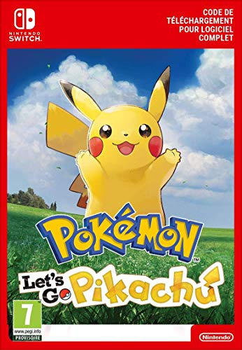 Pokémon : Let's Go, Pikachu | Switch - Download Code