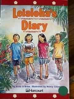 Harcourt School Publishers Trophies: Advanced-Level Grade 4 Leialoha's Diary
