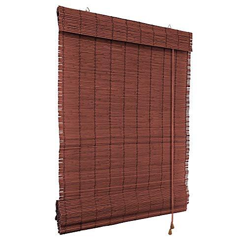 Victoria M. Store Bateau en Bambou pour lintérieur - Montage Facile grâce au système Klemmfix - Store en Bambou sans percer - 60 x 160cm Cerise
