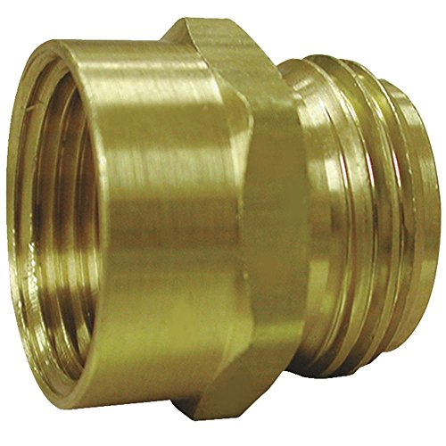 Jones Stephens Corp. G20-110 Male Hose X Female Pipe-3/4MHX1/2FIP ADAPTER