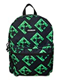 Minecraft Backpack 16' Book Bag for Kids Creepers All Over Print