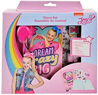 JoJo Siwa Sandy Lion Diary with Pen, Stamper and 2 Sticker Sheets
