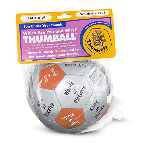 """Which Are You and Why? Thumball 6"""" for icebreaker games Photo #9"""