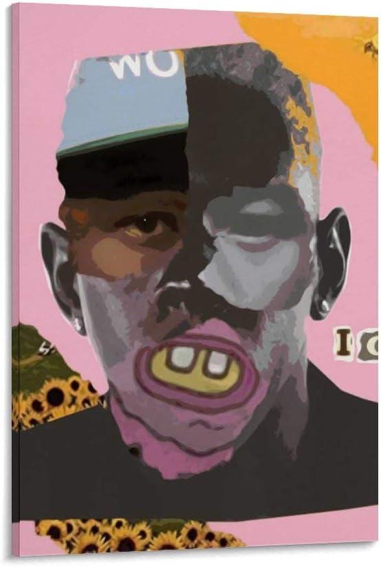 オーバーのアイテム取扱☆ maojin Tyler The Creator Canvas and Art Poster Wall Picture ギフト