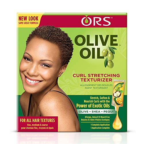 Ors Olive Oil Curl Stretching Texturizer Kit, 1 Ea, 1count