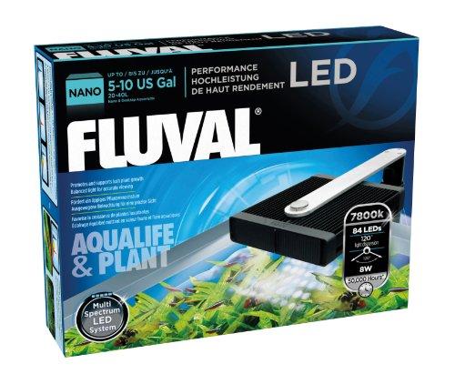 "Fluval A3970 Nano LED Süßwasserlampe \""Aqualife & Plant\"" für Aquarien 20-40 L"
