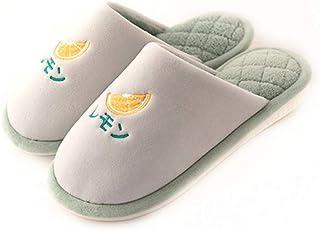 Unisex Fluffy Slip On House Slippers Soft Indoor Slipper For Winter