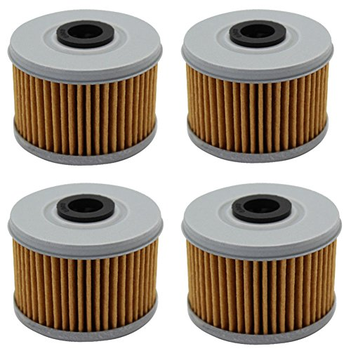 Cyleto Oil Filter for HONDA TRX450ES Foreman 450 1998-2001 TRX450FE TRX450FM 2002-2004 TRX 450 S FOREMAN 1998-2002 TRX500FE FOURTRAX FOREMAN 500 2005-2009 2011-2016
