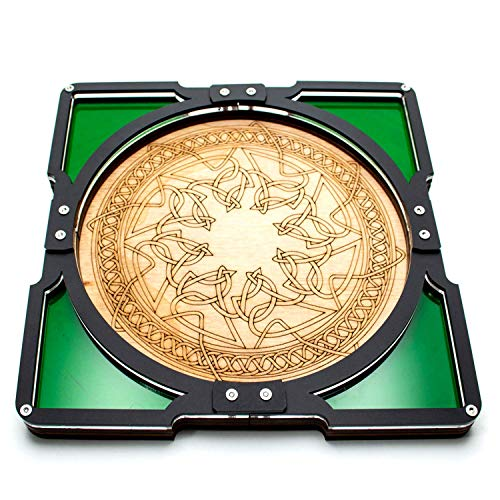 C4Labs Party Tray - Emerald Green Celtic Design