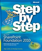 Microsoft? SharePoint? Designer 2010 Step by Step (Step by Step (Microsoft)) by Penelope Coventry (2011) Paperback