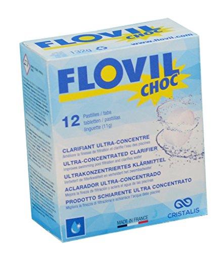 Flovil Choc vlokmiddel voor zwembaden