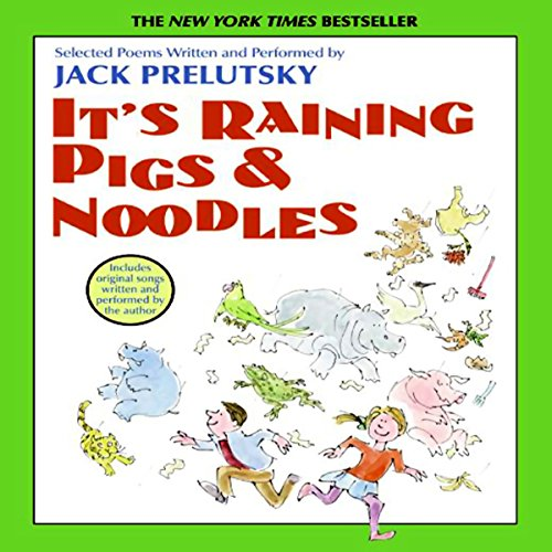 It's Raining Pigs and Noodles audiobook cover art