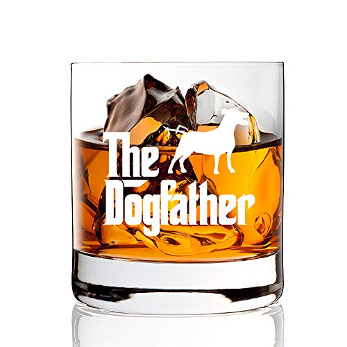 Dog Father Whiskey Glass