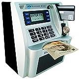 YaBao Pounds Version Electronic ATM Savings Bank Digital Piggy Money Bank Machine,Electronic Cash Box with...