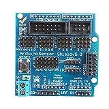 Luoshan Tarjeta de expansión Multi-Interface Electronic Sensor Shield Uno R3 V5.0 for Arduino