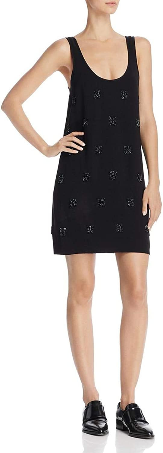 Elizabeth and James Womens Greene Sleeveless Crepe Cocktail Dress
