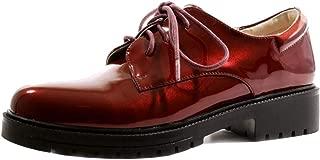 Zanpa Women Classic Brogue Shoes Flats Slip On Pumps