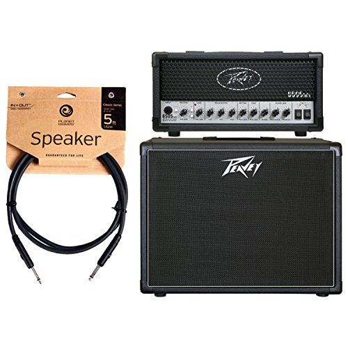Cheapest Prices! Peavey 6505 MH Mini Guitar Amplifier Head and 112-6 Guitar Enclosure and Cable
