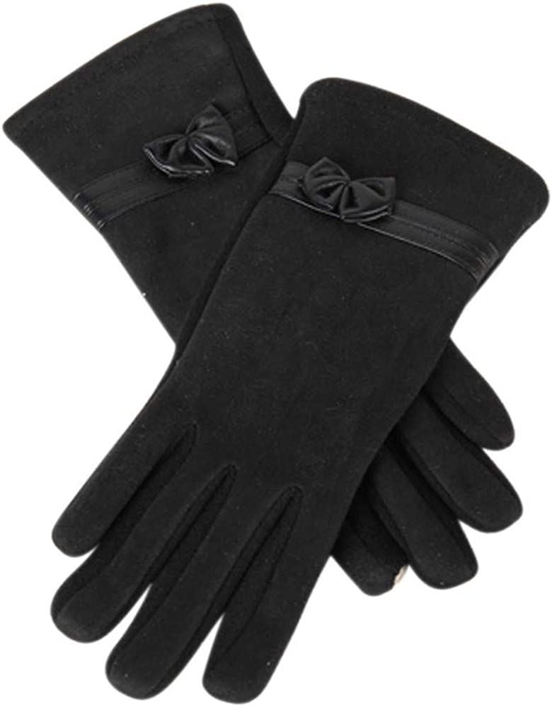 Women Winter Warm Touch Screen Gloves Fleece Lined Mittens Thermal Gloves for Outdoor Running Cycling Driving