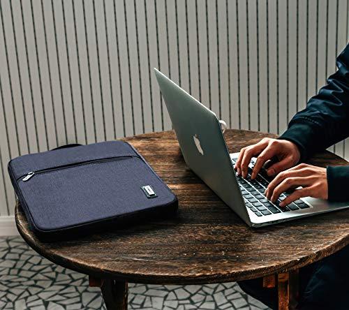 LONMEN Wasserdicht 9.7-10.5 Zoll Laptop Sleeve Hülle Tasche Laptophülle mit Griff für 9.7