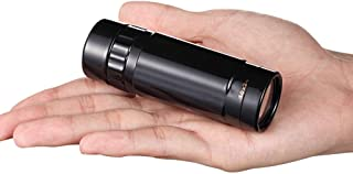 Telescope Single-Lens Pocket Compact Portable High-Definition Waterproof Tele for High-End Gifts Bird Watching Camping Wat...
